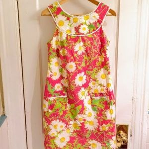 Lilly Pulitzer Janet Shift Dress Never Worn (Pink)